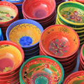 Provencal pottery and markets